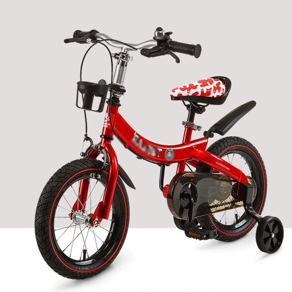 自転車 子供の折りたたみ自転車2-4-6歳の男性と女性 (サイズ さいず : 12 inch) B07DPP6G8P 12 inch 12 inch