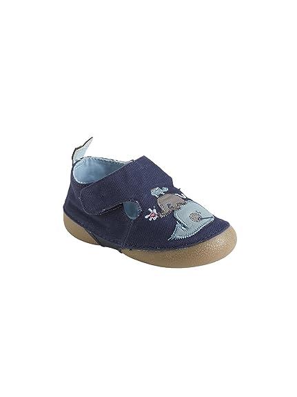 Vertbaudet Zapatillas de Estar por Casa de Lona Bebé-Niños: Amazon.es: Zapatos y complementos