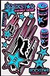 1 sheet motocross stickers R8blpk Ene...