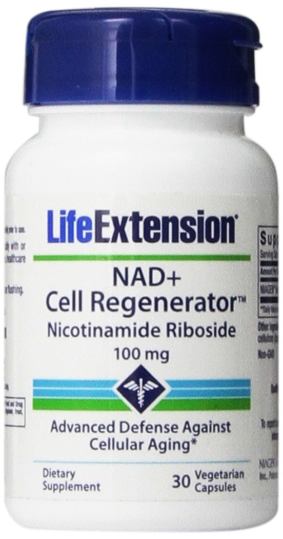 Life Extension NAD+ Cell Regenerator Nicotinamide Riboside Capsules, 30 Count