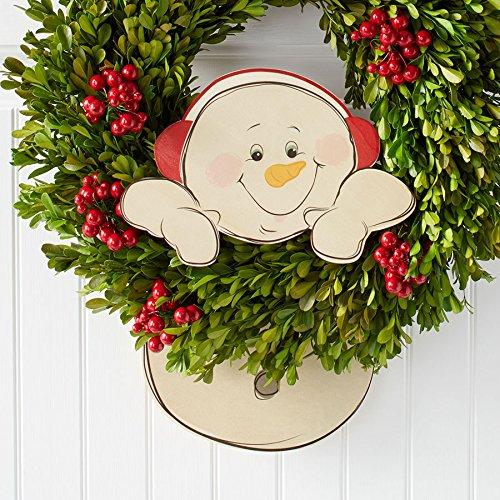 "Snowman Dangler (Department 56 Snowpinions ""Snowman Dangler"" Christmas Wreath Decoration, 10.2"")"