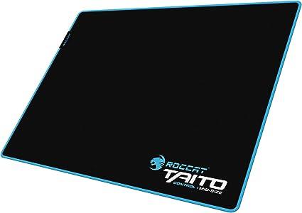 ROCCAT Taito Control Alfombrilla de Gaming – Superficie de Control Total, Borde Cosido y Duradero