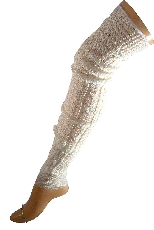 Shimasocks Unisex Stulpen Legwarmer Wolle ca. 60-65 cm Grö ß e:one size Farben alle:anthrazit