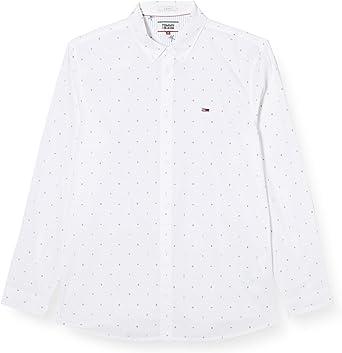 Tommy Hilfiger TJM Ditsy Print Shirt Camisa para Hombre ...