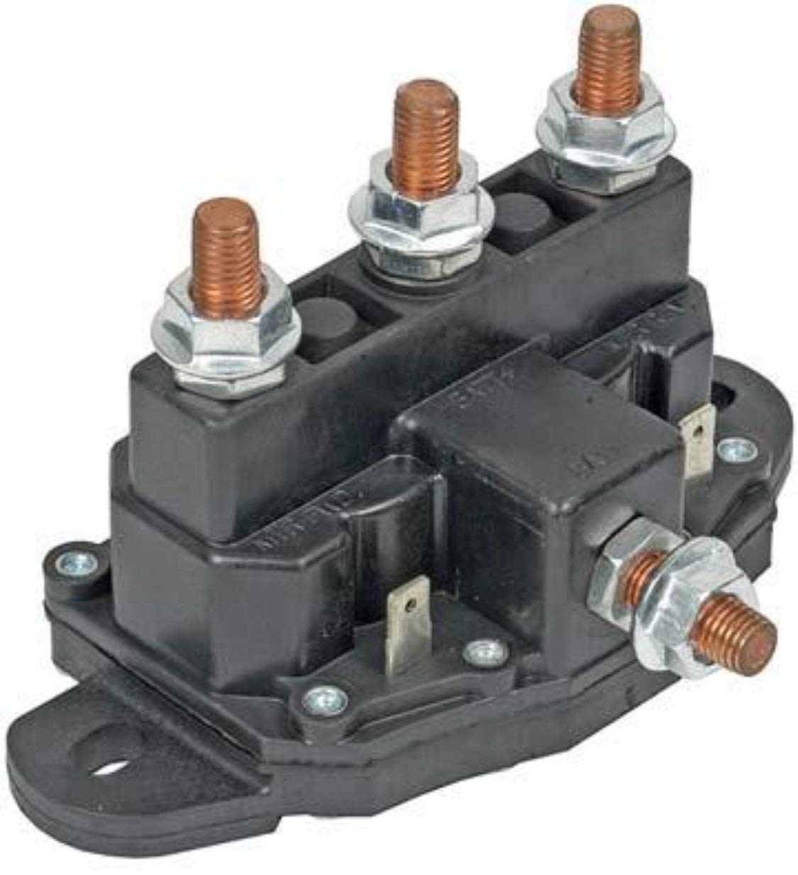 12 Volt Reversing Continuous Duty Solenoid Relay Winch Motor, Windlass Model: SSPL-111 Crank-n-Charge