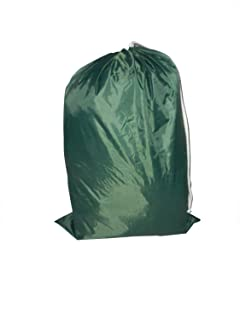 product image for Laundry Bag - Locking Drawstring Closure and Machine Washable. These Large Bags Will Fit a Laundry Basket or Hamper and Strong Enough to Carry up to Three Loads of Clothes (Forest Green)