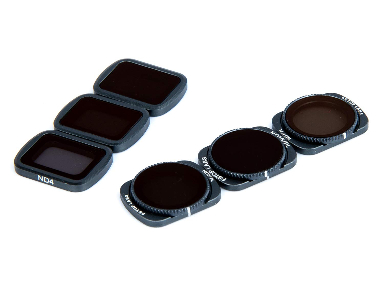 Lens Filters for DJI OSMO Pocket 4K Gimbal Handheld Camera Lens Set, Multi Coated Filters Pack Accessories (6 Pack) ND4, ND8, ND16, ND4/CPL, ND8/CPL, ND16/CPL by Fstop Labs (Image #2)