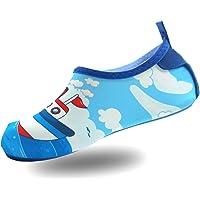 PTHTECHUS Niño Zapatos de Agua Sandalias Descalzas Barefoot Calcetines Respirable Secado rápido Sandalias Nadar Proteger…