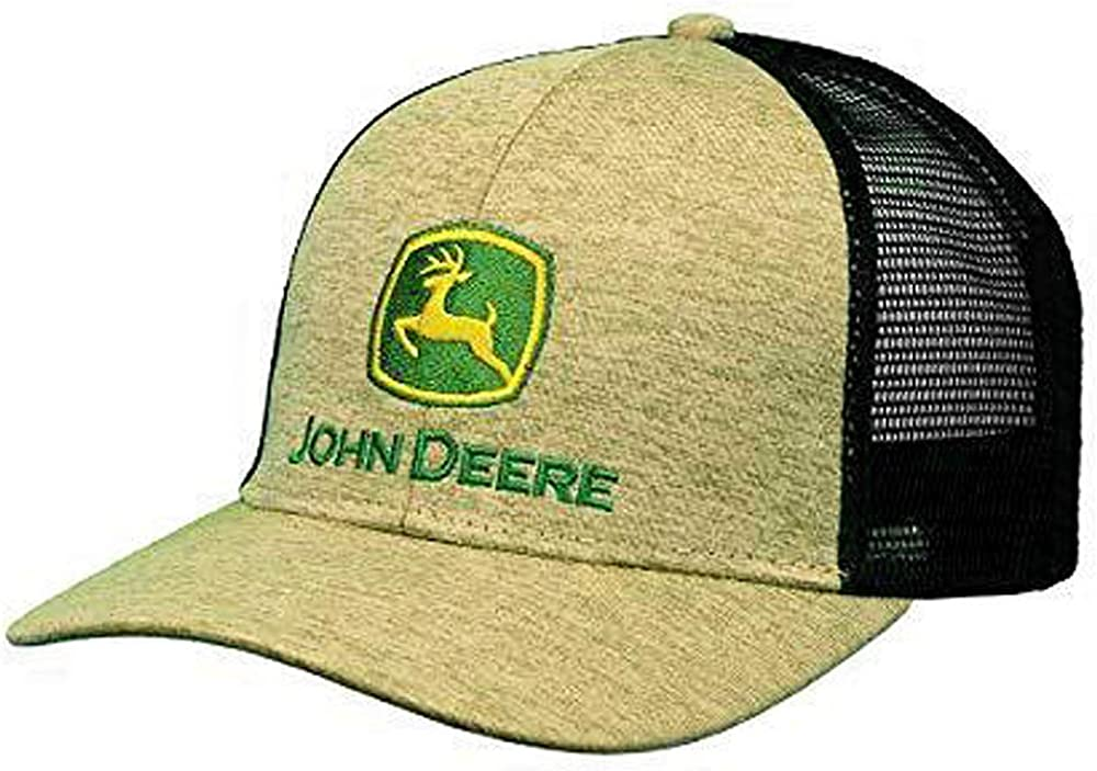 John Deere 6 Panel Cap Space Dye & Mesh-Jd Green-Os: Amazon.es ...