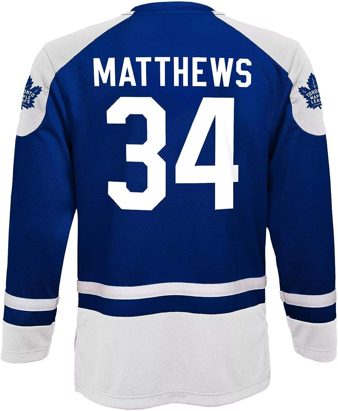 Auston Matthews Toronto Maple Leafs Kids 4-7 Blue Long Sleeve Jersey