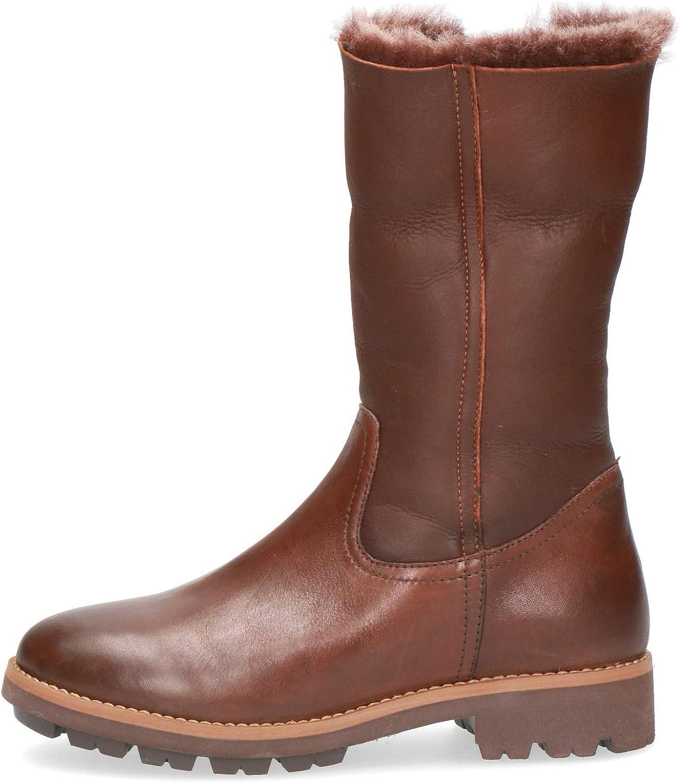 CAPRICE Femme Bottes & Boots 26426-23, Dame Bottes Classiques Cognac Comb