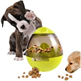 IQ Treat Ball,Interactive Food Dispensing Ball for Dogs Cats Snack Dispenser Tumbler Food Feeder Pet Toy