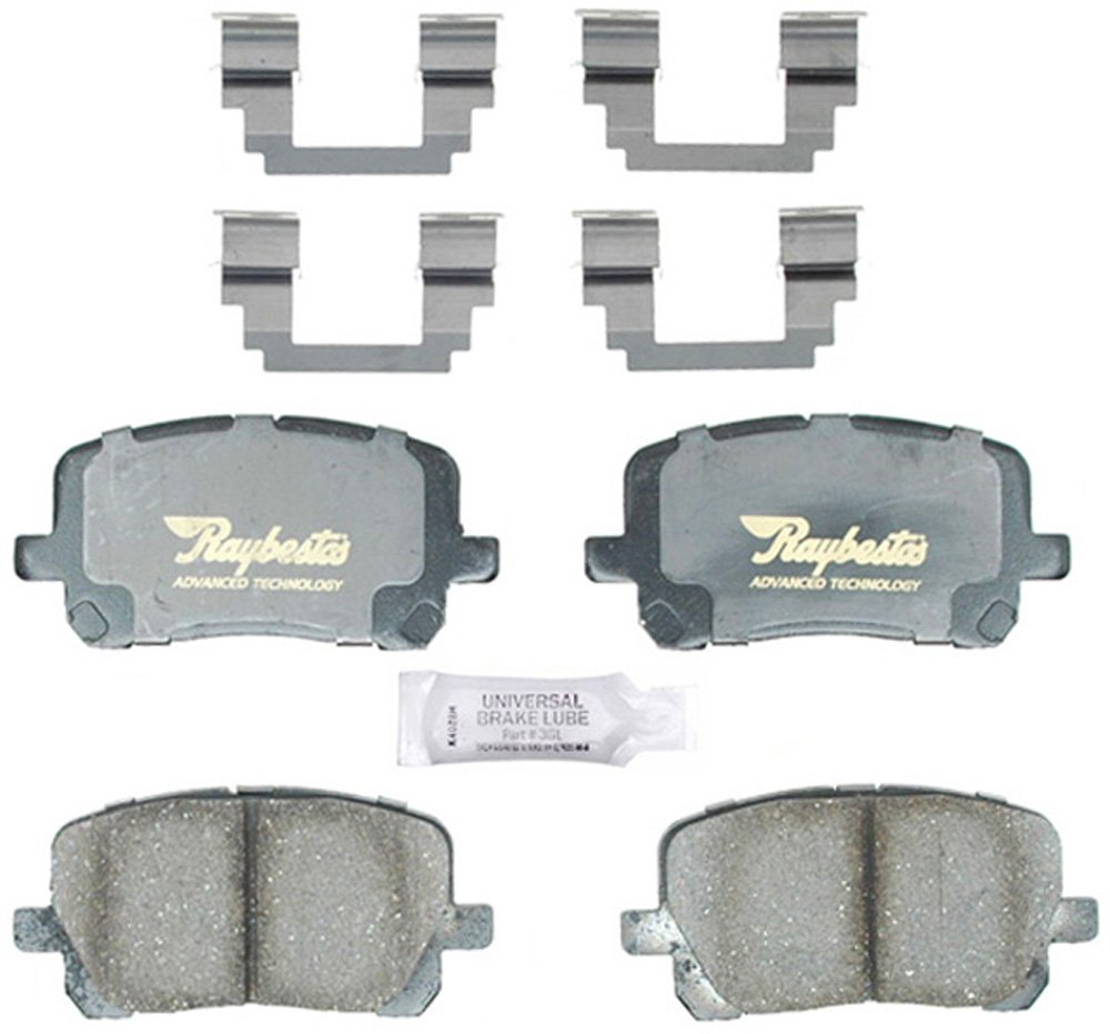 Raybestos ATD923C Advanced Technology Ceramic Disc Brake Pad Set
