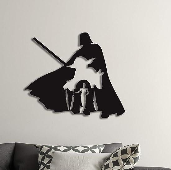 Metal Wall Art Star Wars The Bests Design/Darth Vader/Metal Wall Art/Master Yoda/R2-D2/Metal Accessories/C-3PO/ Worldwide