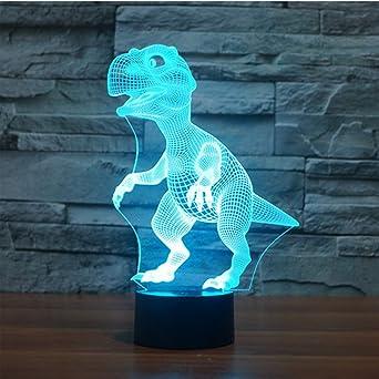 3D Illusion Lampe LED Nachtlicht EASEHOME Optische 3D-Illusions-Lampen Tis