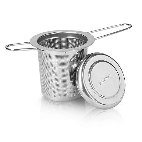 Navaris Filtro para té de Acero Inoxidable - Colador ...