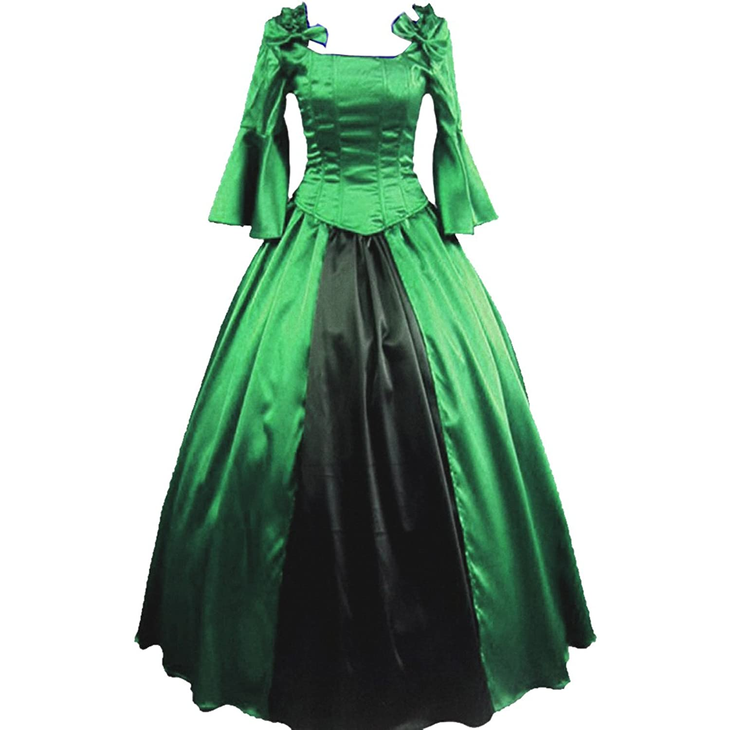 Amazon.com: Partiss Womens Vintage Palace Masquerade Cosplay Prom ...