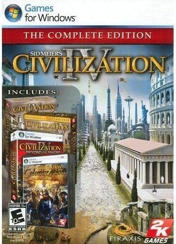Amazon com: Sid Meiers Civilization IV: The Complete Edition