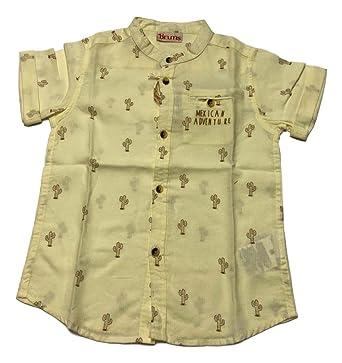 design di qualità adatto a uomini/donne varietà di stili del 2019 Brums Camicia Micro Armatura all Over Bambino/Ragazzo ...