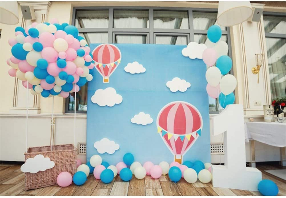 First Birthday Bday Party Supplies Birthday Party Props Background 77th Birthday Party Rose Gold Photo Booth Balloon Backdrop Decoration