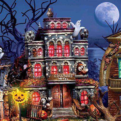 Hawthorne Munsters Halloween Village