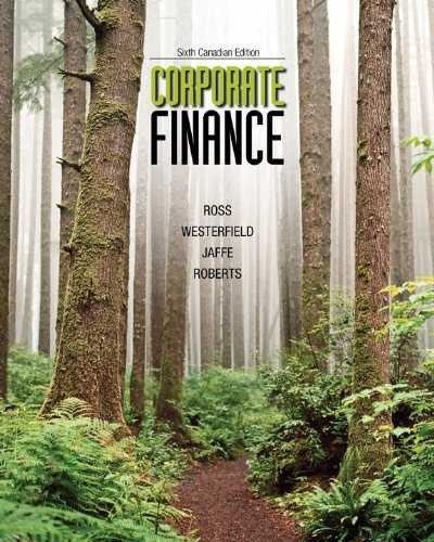 corporate finance ross westerfield canadian edition 7th pdf