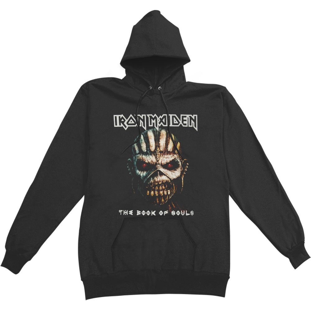 Iron Maiden Men's Book Of Souls Hooded Sweatshirt Black IMHOOD03M