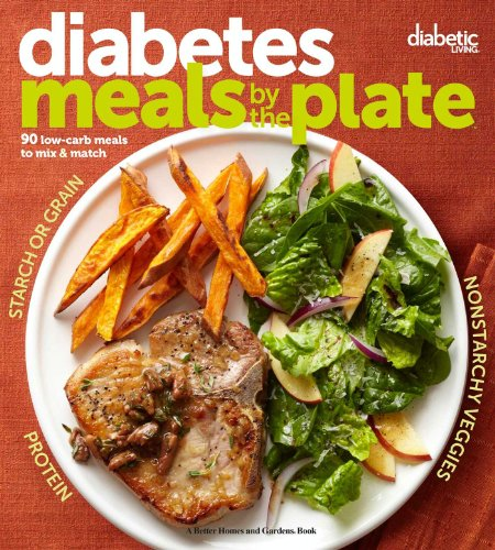 Diabetic Living Diabetes Meals by the Plate: 90 Low-Carb Meals to Mix & Match by Diabetic Living Editors
