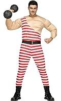Fun World carny Muscle Man Adult Costume-