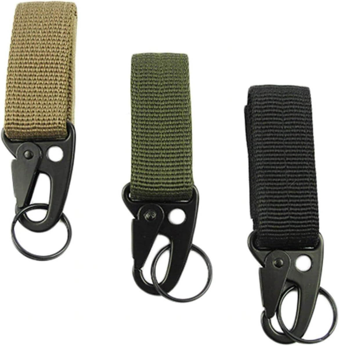 Dailyinshop Multifunktionale Outdoor-Camping-Tactical Karabiner Rucksack Haken Olecranon Molle Haken /Überleben Gang Schl/üsselanh/änger Haken