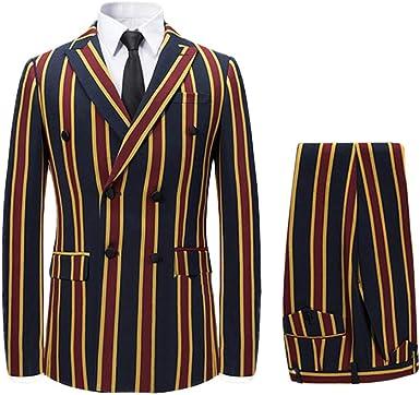 Coolred-Men Oversized Printed Trim-Fit Lapel Coat Jacket Blazer Outwear