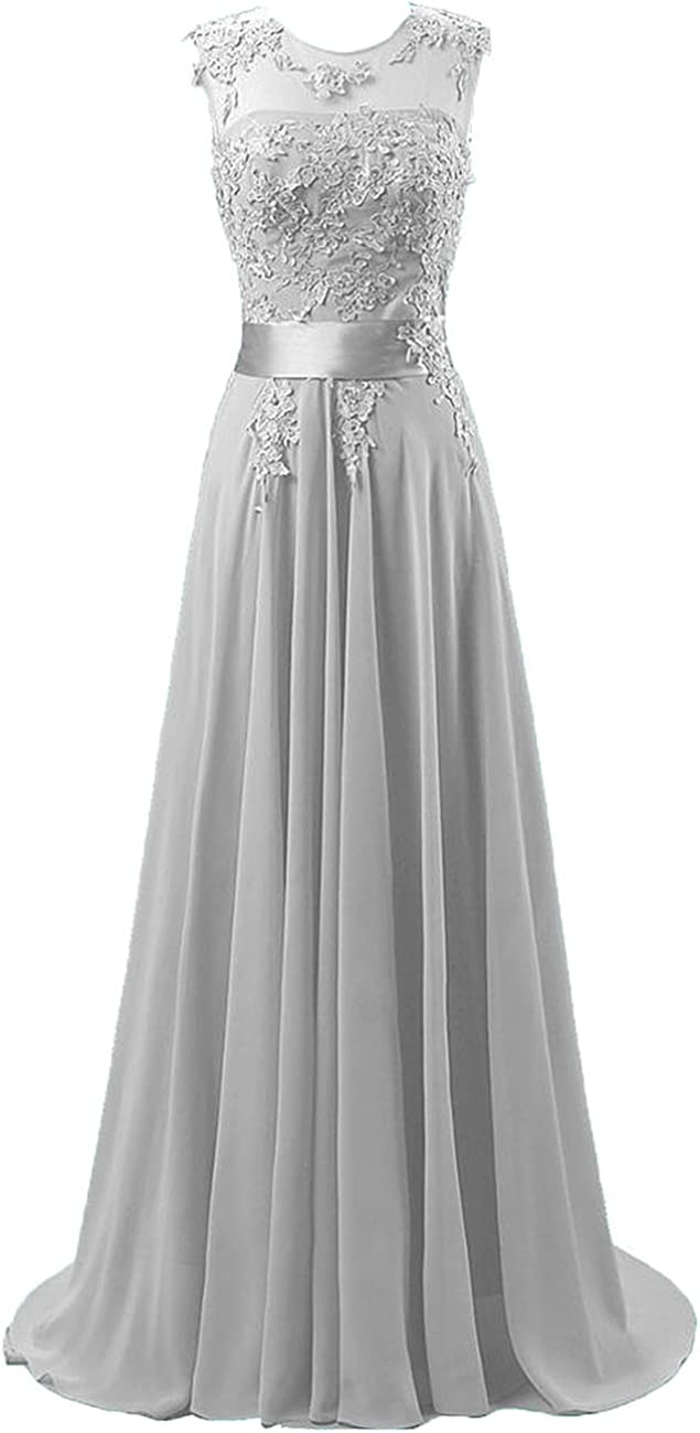 Chiffon Gorgeous Long Free shipping on posting reviews Prom Dresses Lace Gowns Formal Applique Wed Evening