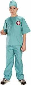 Forum Novelties Doctor Surgical Scrubs Child's Costume, Small