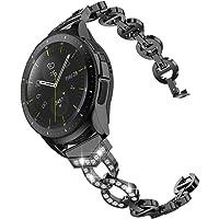 Glebo Bling bransoletka kompatybilna z Samsung Galaxy Watch 42 mm / Active 2 40 mm 44 mm / Active 40 mm / Gear Sport…