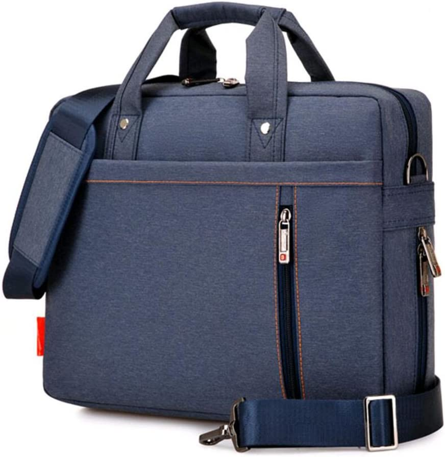 "SNOW WI 13.3"" Expandable Laptop Shoulder Bag for MacBook,Acer,Asus,Dell(Blue)"