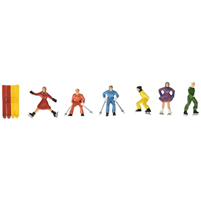 1 X O Winter Action People (6) by Model Power: Toys & Games