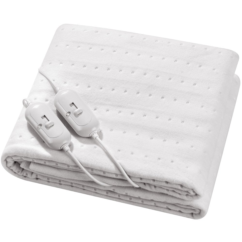 Vivo Super Comfy Direct Heat Technology Luxury Electric Blanket Under Heated Washable King Bed Sofa Bedroom