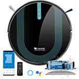 Proscenic 850T Wi-Fi Connected Robot Vacuum Cleaner, Works with Alexa & Google Home, 3-in-1 Mopping, Self-Charging with 3000P