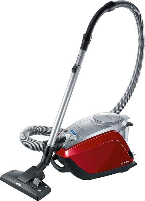 Bosch BGS51442 - Aspirador sin bolsa, 1400W, color rojo oscuro: Amazon.es: Hogar