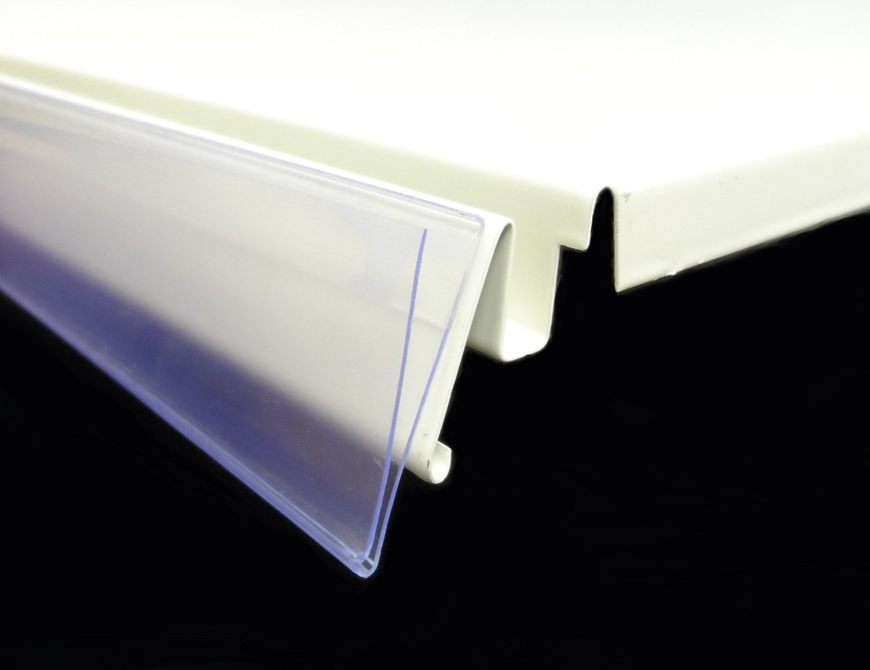 10x Scanningschiene 100 x 4 cm DBR39 selbstklebend transparent glasklar