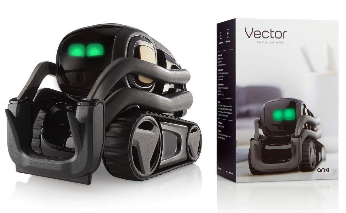 Vector Robot by Anki, A Home Robot Who Hangs Out & Helps Out, With Amazon  Alexa Built In Renewed
