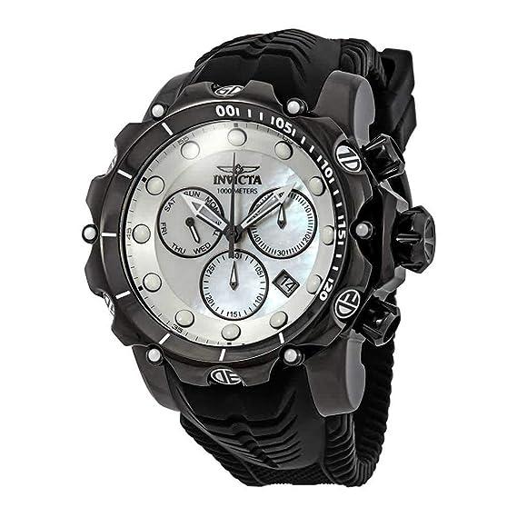 Invicta Venom Reloj de hombre cuarzo suizo analógico correa de silicona 26246: Amazon.es: Relojes