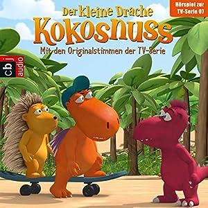 Viel Frucht um Nix / Das Superbaby / Voll verpeilt / Kokosnuss vor Gericht (Der Kleine Drache Kokosnuss - Hörspiel zur Serie 7) Hörspiel