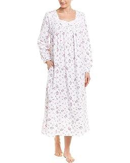 ae04f34baf Eileen West Women s Cotton Lawn Long Sleeve Ballet Nightgown Solid ...