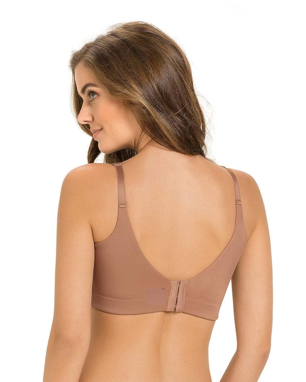 d0b1da51f Leonisa High Profile Push Up Bra with Full Coverage at Amazon Women s  Clothing store