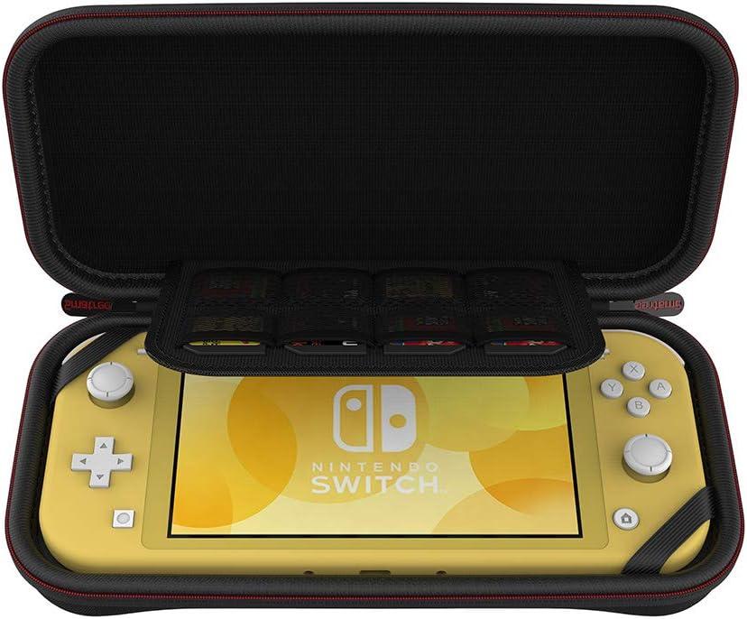 Funda para Nintendo Switch, Smatree Funda de Transporte para Nintendo Switch Lite, Estuche Protector Rígido con Almacenamiento para Juegos / Accesorios Switch Lite Negro: Amazon.es: Videojuegos