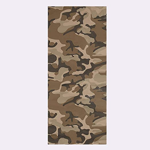 BROWN TAN Digital Camouflage Vinyl Car Wrap Camo Film Decal Sheet Roll