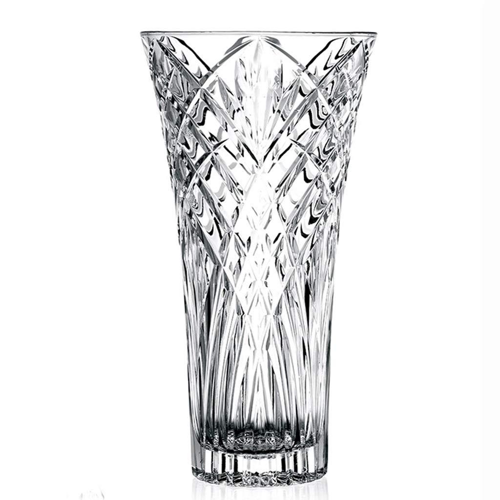 フラワーベース花器 花瓶 ファッション透明ガラス花瓶 花と水の文化透明花瓶 リビングルームの装飾花瓶 寝室のホームフラワーアレンジメント花瓶 家の装飾花瓶 (Size : 16x16x30cm) B07QGCQ3XG  16x16x30cm
