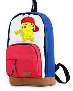 yoyoshome® Anime Pokemon Cosplay mochila mochila escolar bolsa de ...