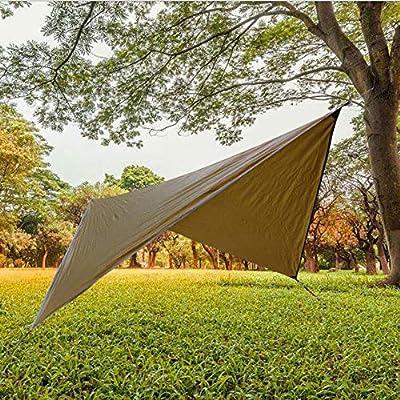 Tienda de Campaña 360cmx290cm Impermeable Ante Lluvia para Cenador para Terraza Jardín Patio - Toldo para Eventos al Abierto, Event Shelter, ienda de Protección UV con Paneles Laterales para Playa, Fes: Amazon.es:
